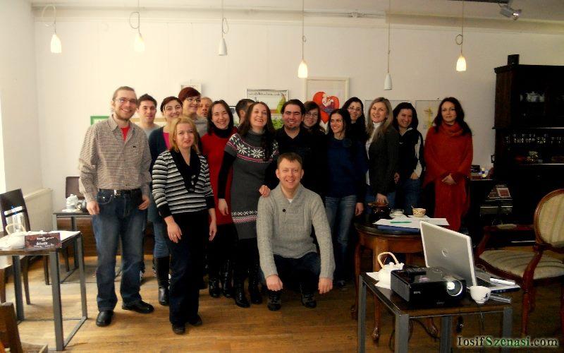 Ediţia din 11 februarie 2012 a seminarului despre iubire @ Cărtureşti Timişoara
